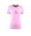 t-shirt korte mouwen roos