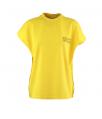 t-shirt recht geel