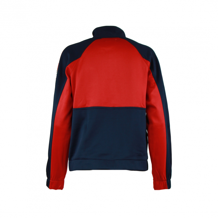 sweatervest patchwork marine