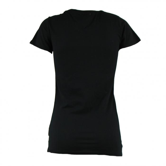 t-shirt korte mouwen logo zwart