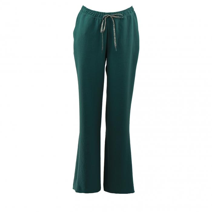 broek recht strop groen