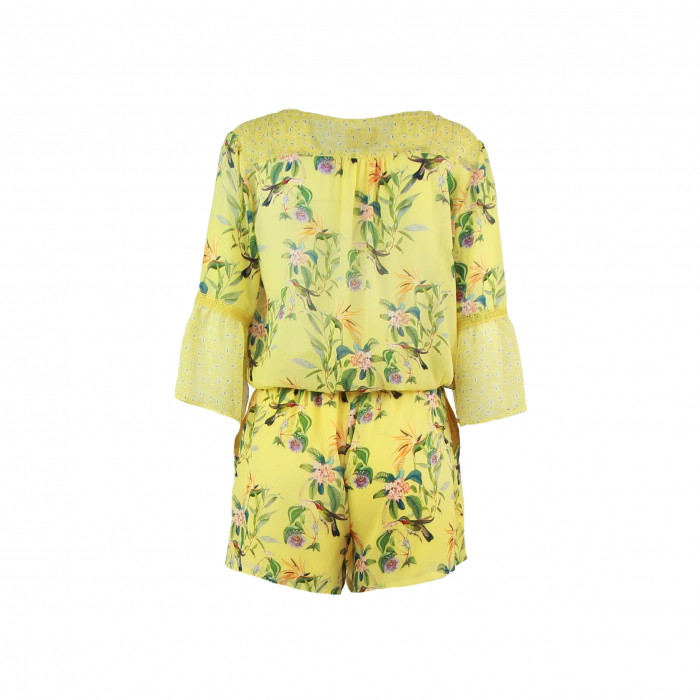 playsuit patch geel