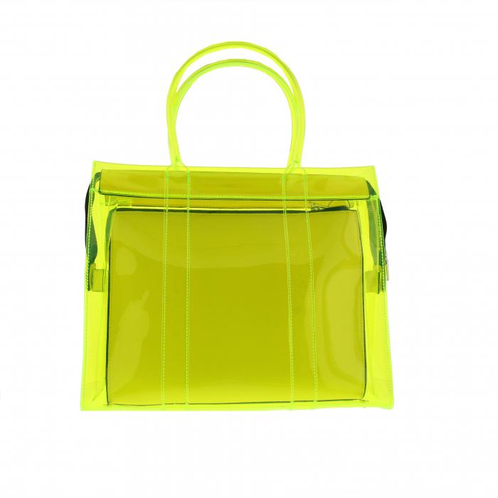 handtas groot doorsch geel