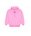 sweater kap kreuk fluo