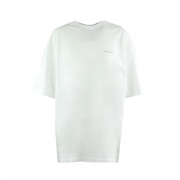 t-shirt oversized wit logo