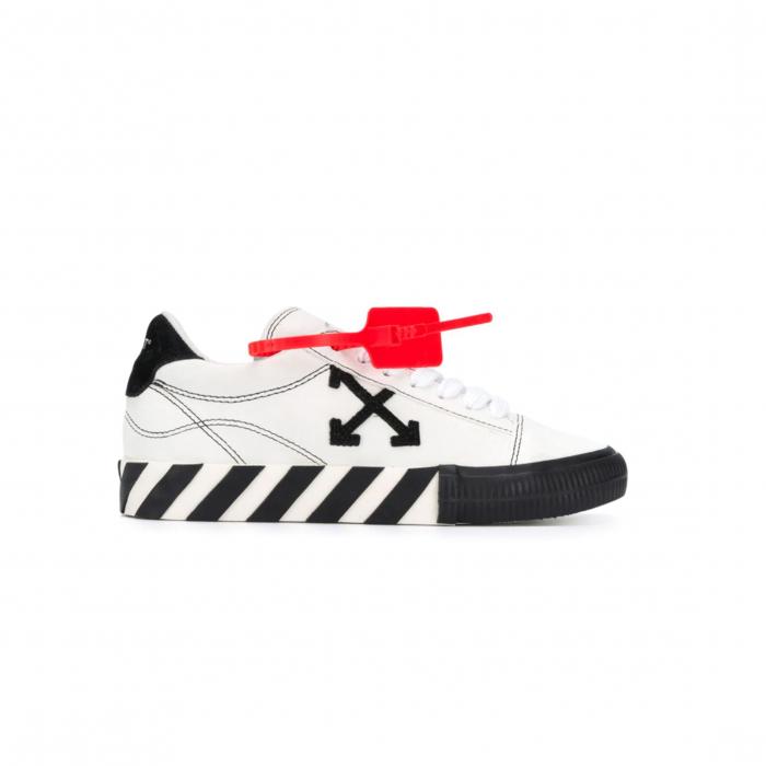sneaker wit/zwart kort