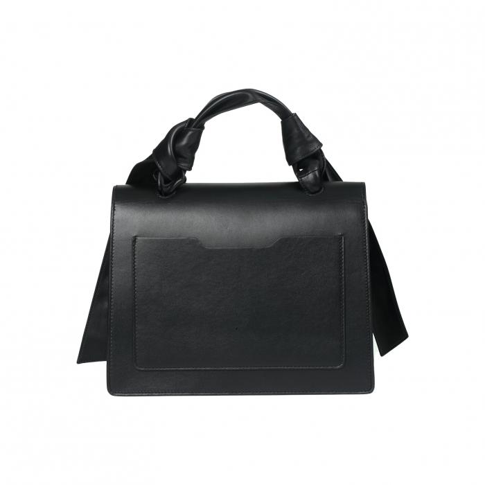 Handtas groot kruis zwart