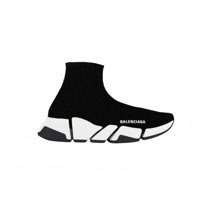 sok sneaker speed lurex zwart