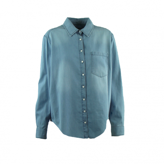 hemd chambray bleach