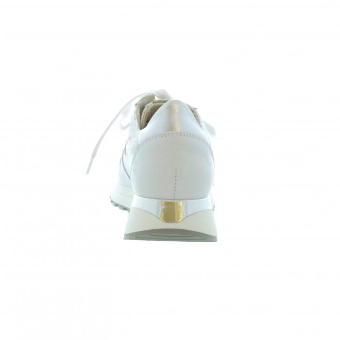 sneaker gevlochten wit