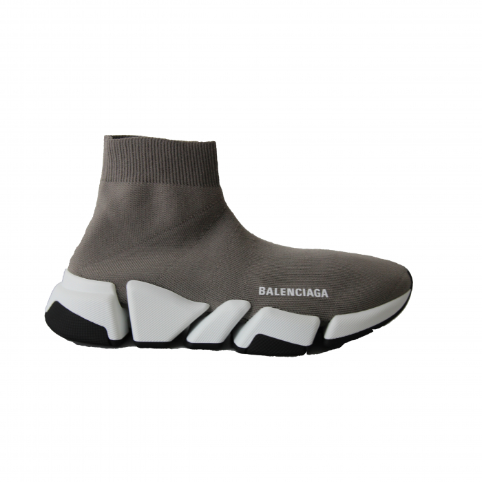 sok sneaker grijs/wit